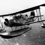 Curtiss SOC-1 #6 9979 2 July 1939 in flight