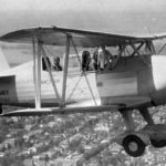 Curtiss SOC-2 BuNo 0417 in flight