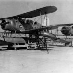 SOC-3 Seagull from VO-2B parked at Reeves Field, San Diego in 1938