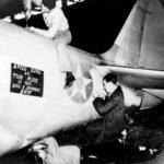 TBD-1 Devastator of VT 5 undergoing maintenance at NAS Norfolk December 16 1941