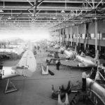 TBD assembly line at Douglas Aircraft Companys Santa Monica