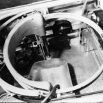 gunners cockpit in TBD Devastator