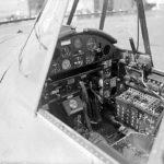 Cockpit of a British TBF Avenger