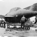Grumman TBF packed for shipment to the England