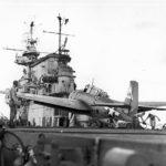TBF Avenger 44 on deck of USS Enterprise