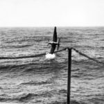 TBF Avenger about to crash into ocean