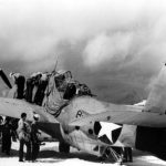 TBF Avenger 8-T-1 of the VT-8 Midway 25 June 1942