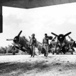 Marine TBM-3 Avengers of VMTB-232 at Okinawa on May 4, 1945