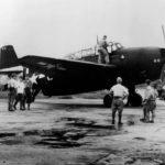 TBM-3 Avenger #60 of VMTB-233 at Matsuyama Airfield on Formosa on September 5, 1945