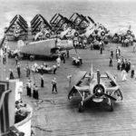 Torpedo Loaded on Air Group 2 TBF aboard USS Hornet CV 12