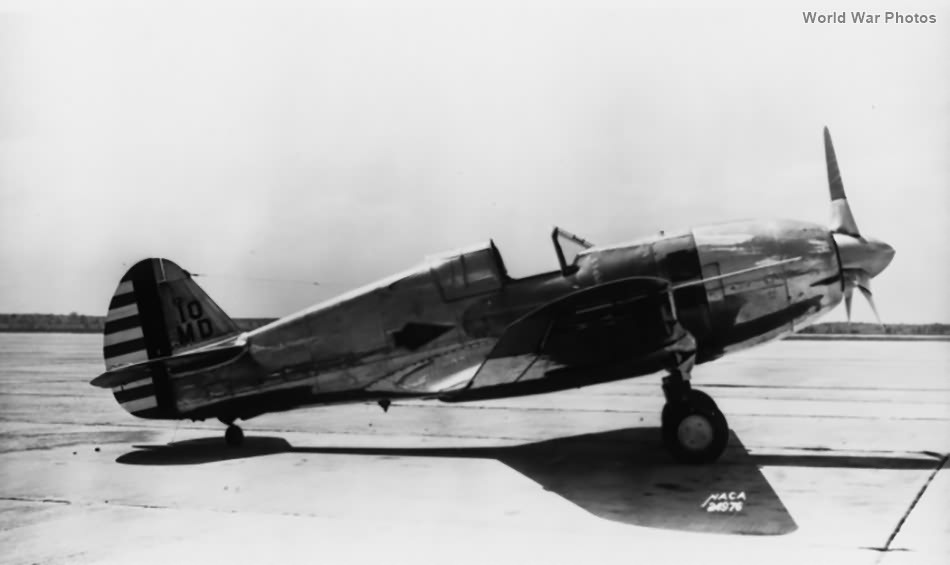 XP-42 38-4 NACA long nose