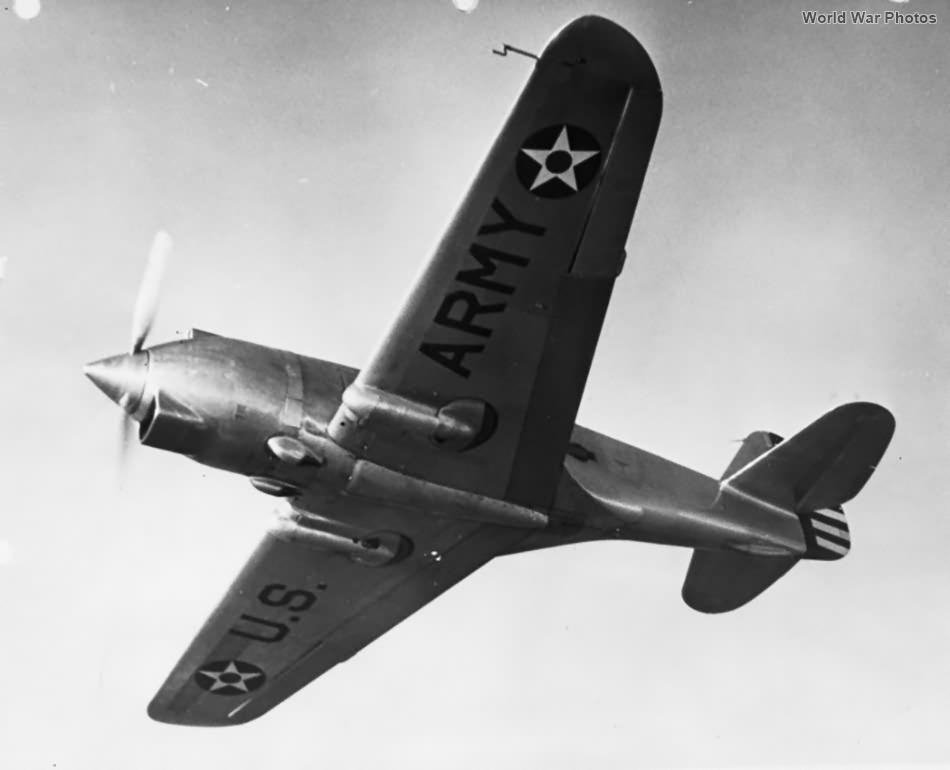 XP-42 flight
