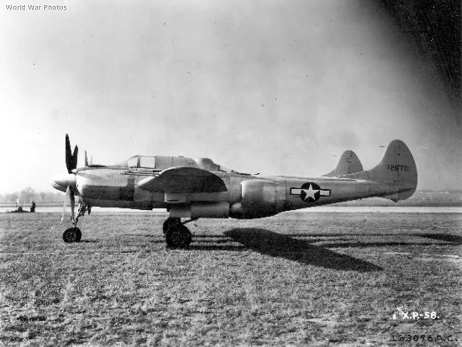 XP-58 41-2670 6
