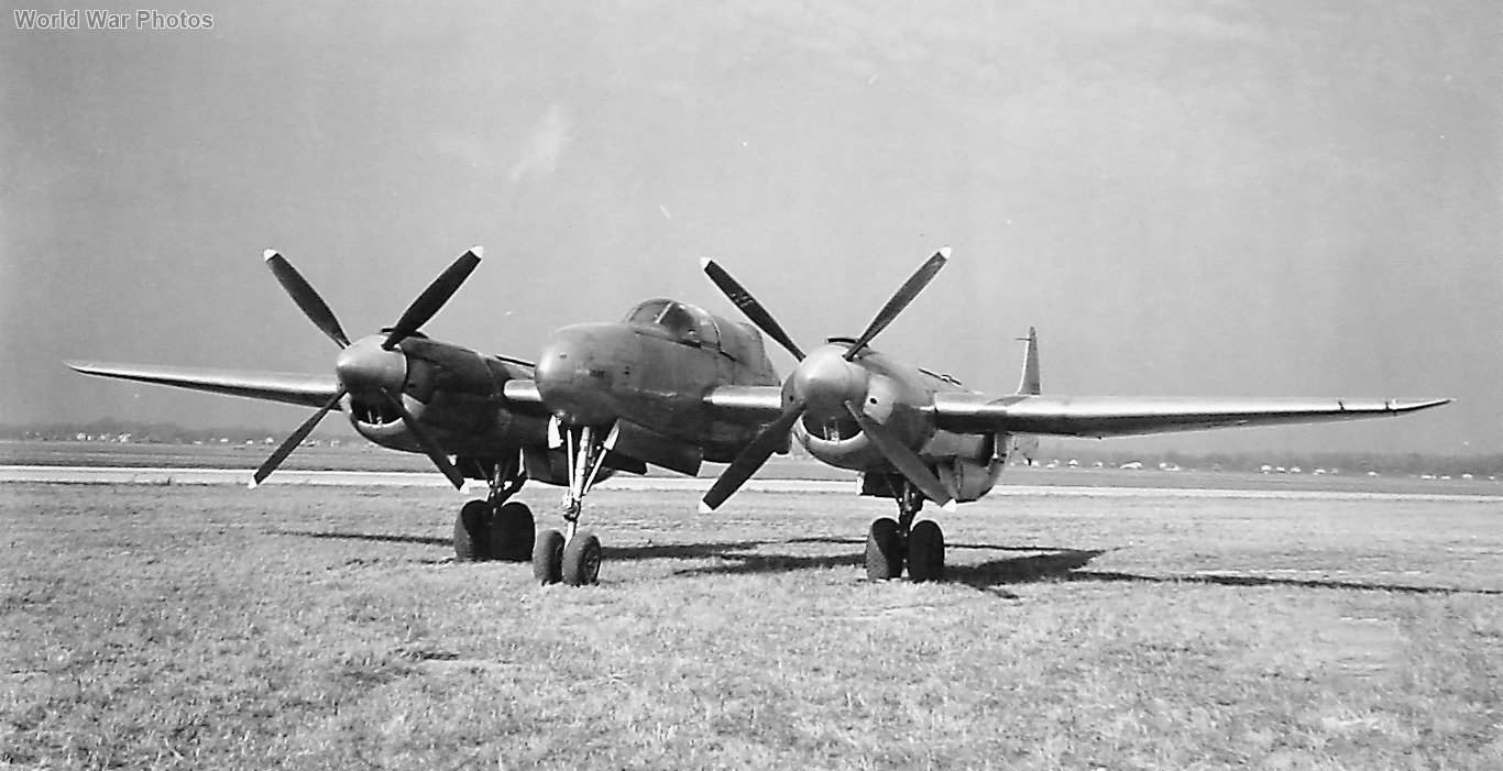 Lockheed XP-58 front view