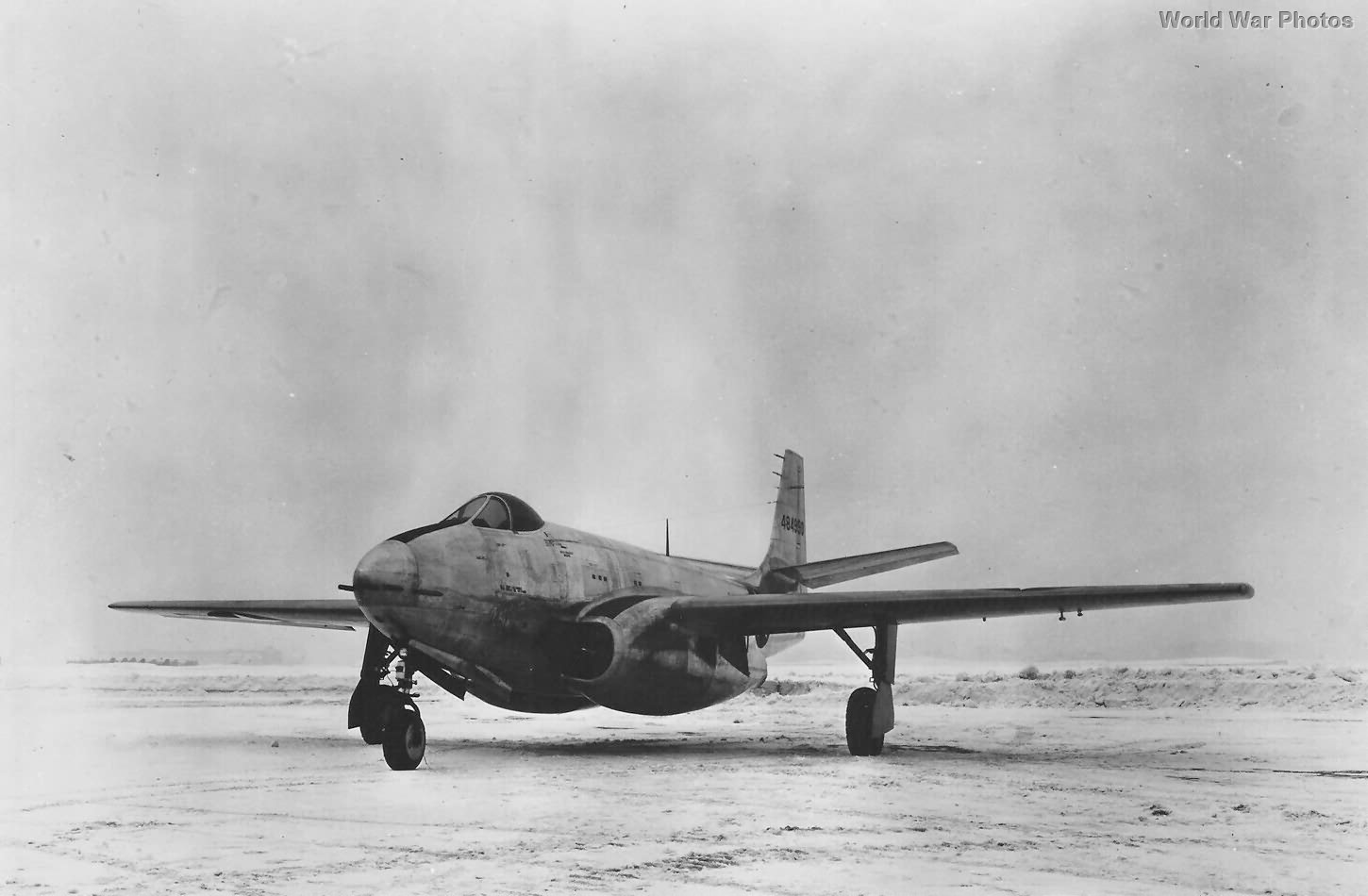 Bell XP-83 8 February 1945