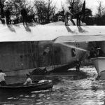 Martin XPB2M-1 Mars during water tests on Chesapeake Bay 1941