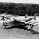 XPB2M-1 Mars on the ground in May 1942