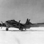 Front view of a XB-40 41-24341 1942