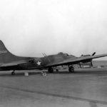 Escort bomber XB-40 on the ground 1942