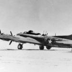 Rear view of a XB-40 41-24341