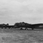 "Boeing/Lockheed-Vega YB-40 42-5736 ""Tampa Tornado"" from 92nd Bomb Group June 1943"