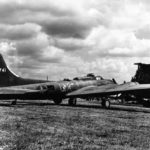 "Boeing/Lockheed-Vega YB-40 42-5741 ""Chicago"" from 327th Bomb Squadron, 92nd BG"