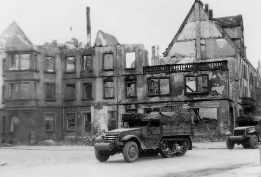 M3A1 somewhere in Germany 1945