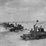 M16 with four M2HB machine guns at Camp Davis