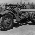 M3 Half track White factory chassis side profile