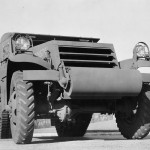 M3 Half track front White factory