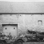 M3 halftrack and Jeep