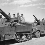 US 27th Field Artillery Troops in T12 75mm GMC M1897A4 M3