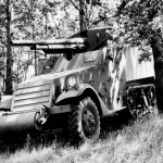 US Army M3 Half Track with 75mm GMC