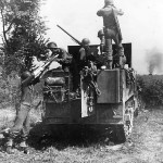 US Troops in Action on M3 Gun Motor Carriage in Italy 1943