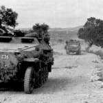 SdKfz 251 and M3 half track