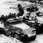 German M3 halftrack and SdKfz 263