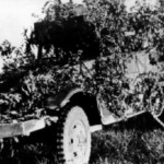 camouflaged M3 halftrack