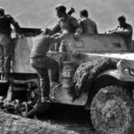 German M3 halftrack 58