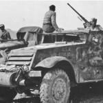 captured German M3 halftrack 2
