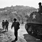 3rd Infantry Division Troops and M7 Priest Cori Italy 1944
