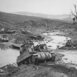 M7 Priest 637th Tank Destroyers Support 37th Infantry Magot River Northern Luzon