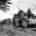 US Army M7 Priest in Phillipines