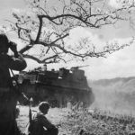 us 25th division troops and m7