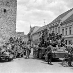 2nd Armored Division M8 Toeven Holland 1945