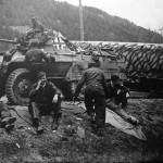 Captured German M8 Greyhound Armored Car