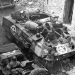 M8 at Gaeta Italy 1944