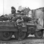 M8 Greyhound Armored Car in Action 2