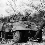 M8 Greyhound Armored Car in field trials 3
