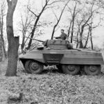M8 Greyhound Armored Car in field trials 5