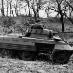 M8 Greyhound Armored Car in field trials 6